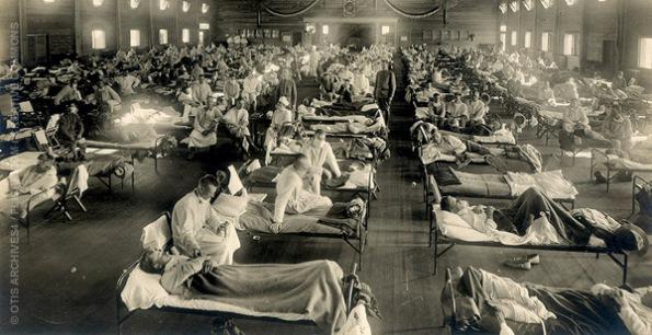 Grippe A - Grippe Espagnole