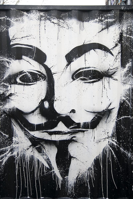 Anonymous Demeure du Chaos thierry Ehrmann