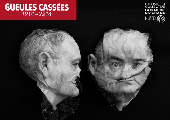 thierry Ehrmann : Les Gueules Cassées (1914 - 2214) à la Demeure du Chaos / Abode of Chaos