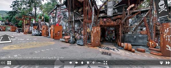 thierry Ehrmann: découvrez à 360° les faces cachées de la Demeure du Chaos sur 9000 m2