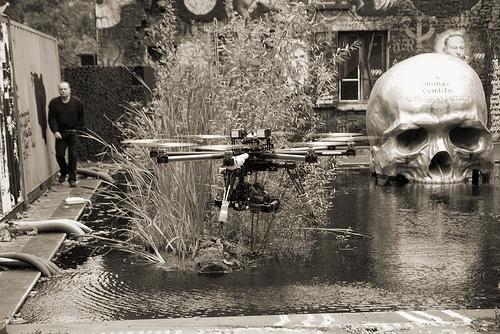 thierry Ehrmann : 2014, les drones prennent le contrôle de la Demeure du Chaoshttps://vimeo.com/87859684
