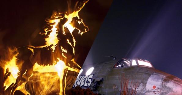 thierry Ehrmann :27 sculptures colossales de la Demeure du Chaos qui vont vous transporter dans un autre monde