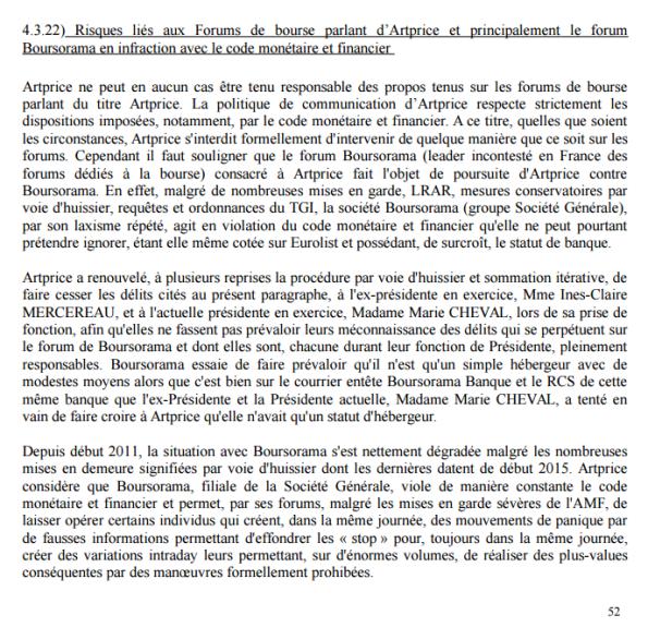 p52 document de référence Artprice déposé àl'AMF