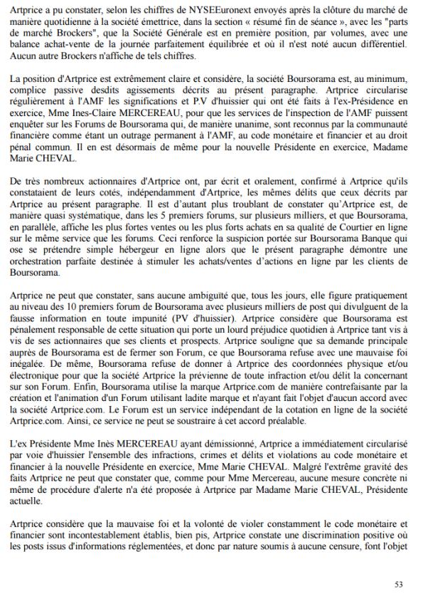 p53 document de référence Artprice déposé àl'AMF