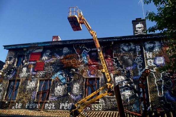 Regard de thierry Ehrmann sur la Demeure du Chaos/Abode of Chaos Musée d'Art Contemporain