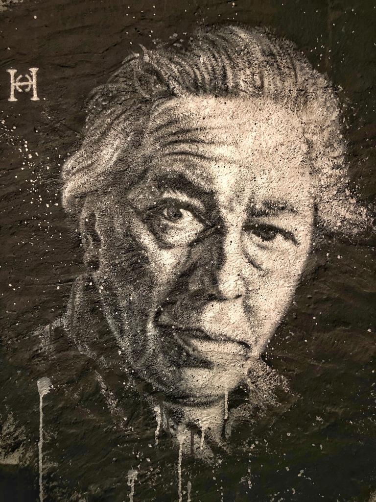André BRETON, Portrait by thierry Ehrmann, courtesy of Demeure du Chaos/Abode of Chaos, HQ Artprice.
