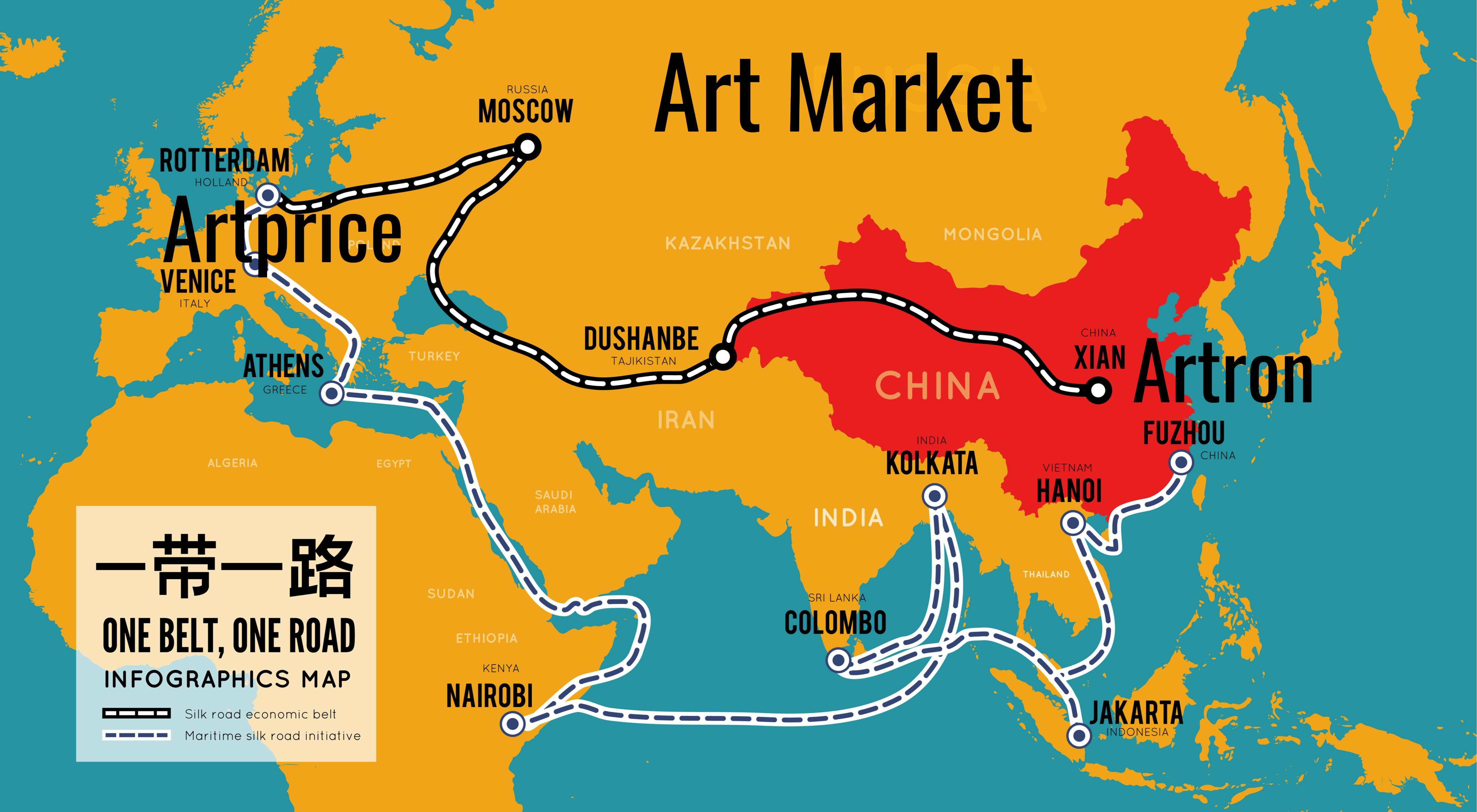 一带一路倡议 (BRI) Artprice - 雅昌文化集团 - 艺术市场