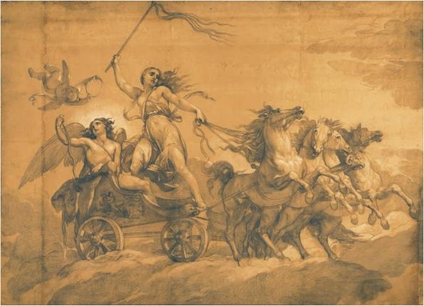 朱塞佩·贝佐利(1784 -1855 年)—Folly driving the chariot of Love 长:4.8 米;高:3.4 米。