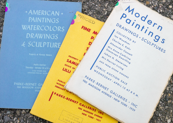 Sales Catalogs of Parke-Bernet Galleries - Artprice Archives