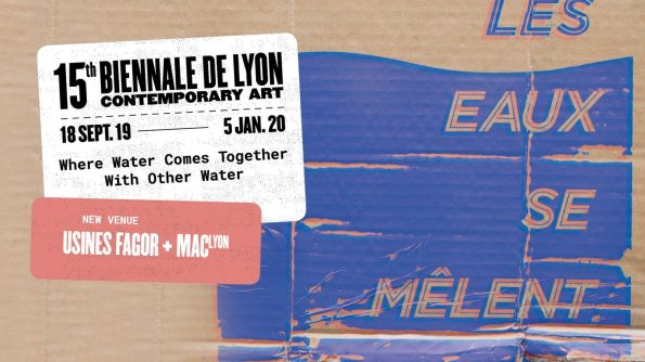 """Courtesy of Biennale de Lyon 2019 """"Where Water Comes Together With Other Water"""" © Stephen Powers"""