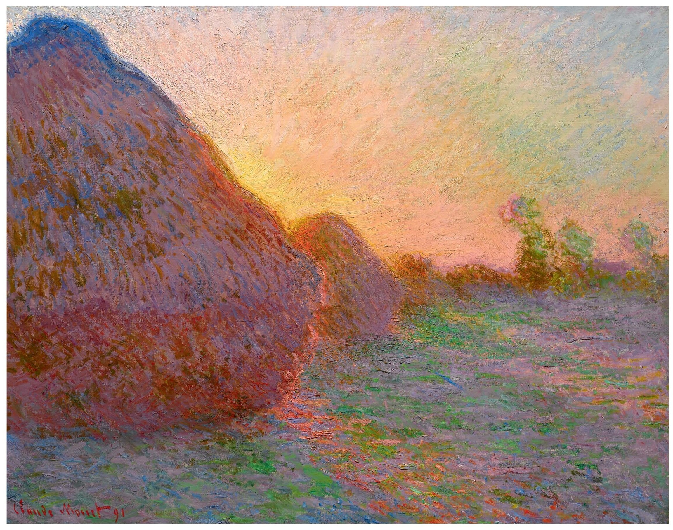 Claude Monet - Haystacks (1890)